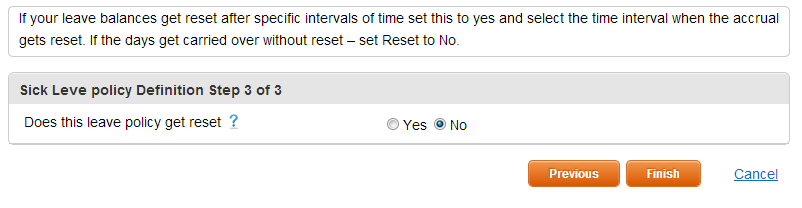 Add Leave Types - Step4